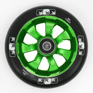 Blunt-7-Spoke-Black-On-Green