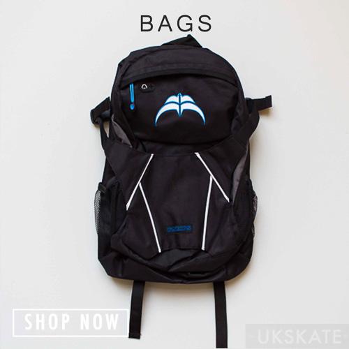 bags button for skates