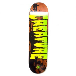 creature skateboard deck