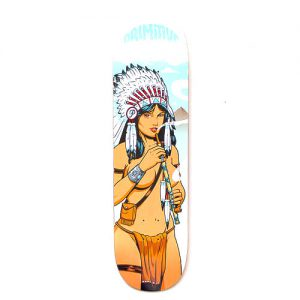 primitive skateboard deck