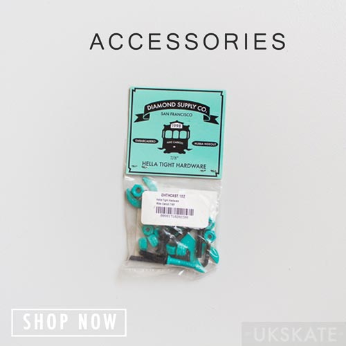 button for skateboarding accessories
