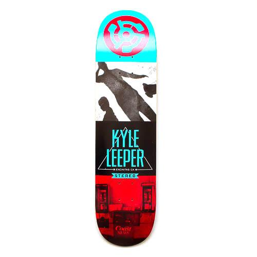 stereo skateboard deck