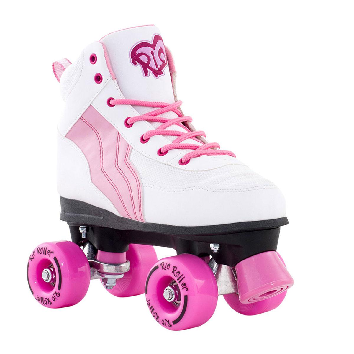 Pink roller skates - photo#21