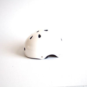 Sfr helmet white side