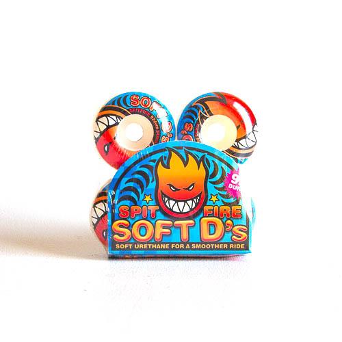 spitfire soft d skateboard wheels