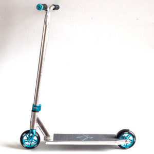 blunt kos heist 2015 complete scooter teal