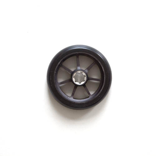 black scooter wheel
