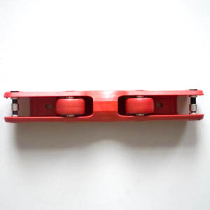 Ground Control FL3 Frame Bottom Red