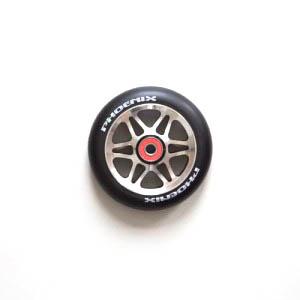 Phoenix 6 Spoke F6 wheel Black:Raw