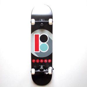 plan B complete skateboard