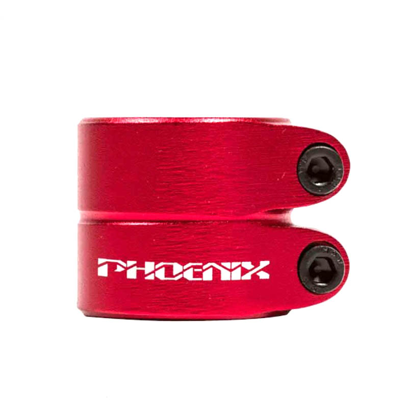 phoenix smooth double clamp red