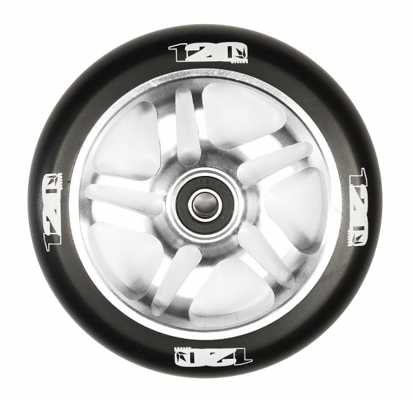 blunt-5-spoke-wheel-black-on-silver-120mm