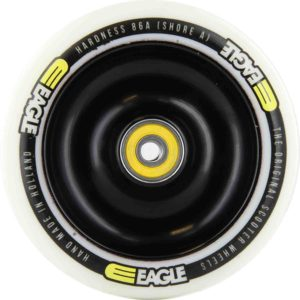 eagle black core white pu