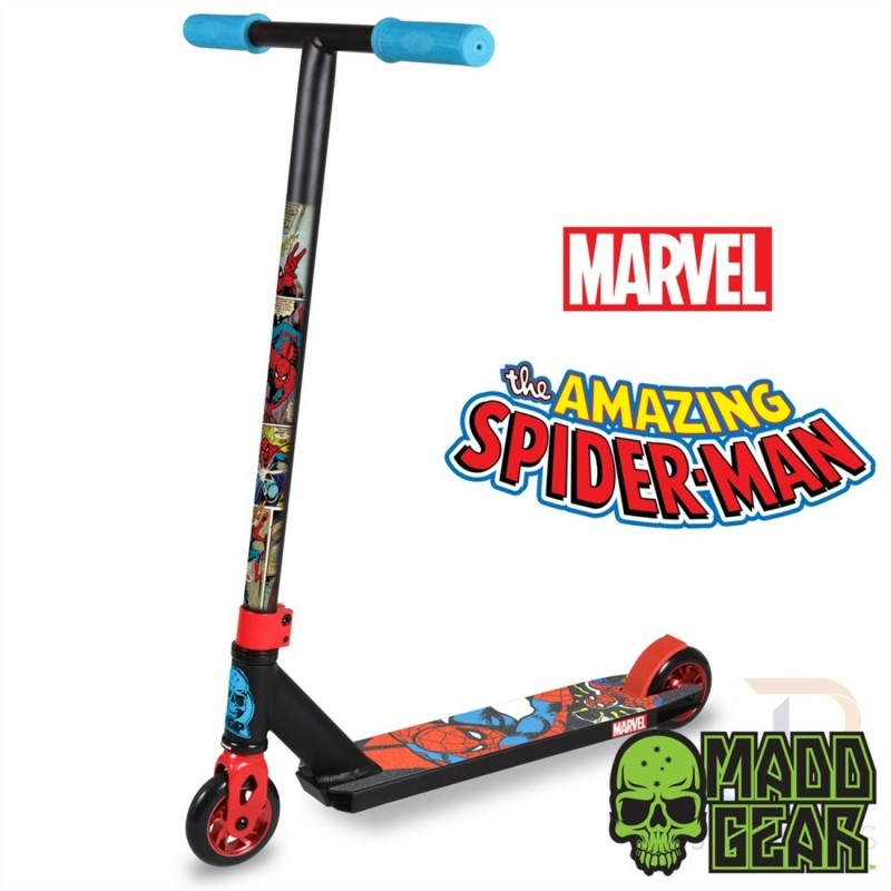 Madd-Gear-MGP-Marvel-Stunt-Scooter-Spider-Man