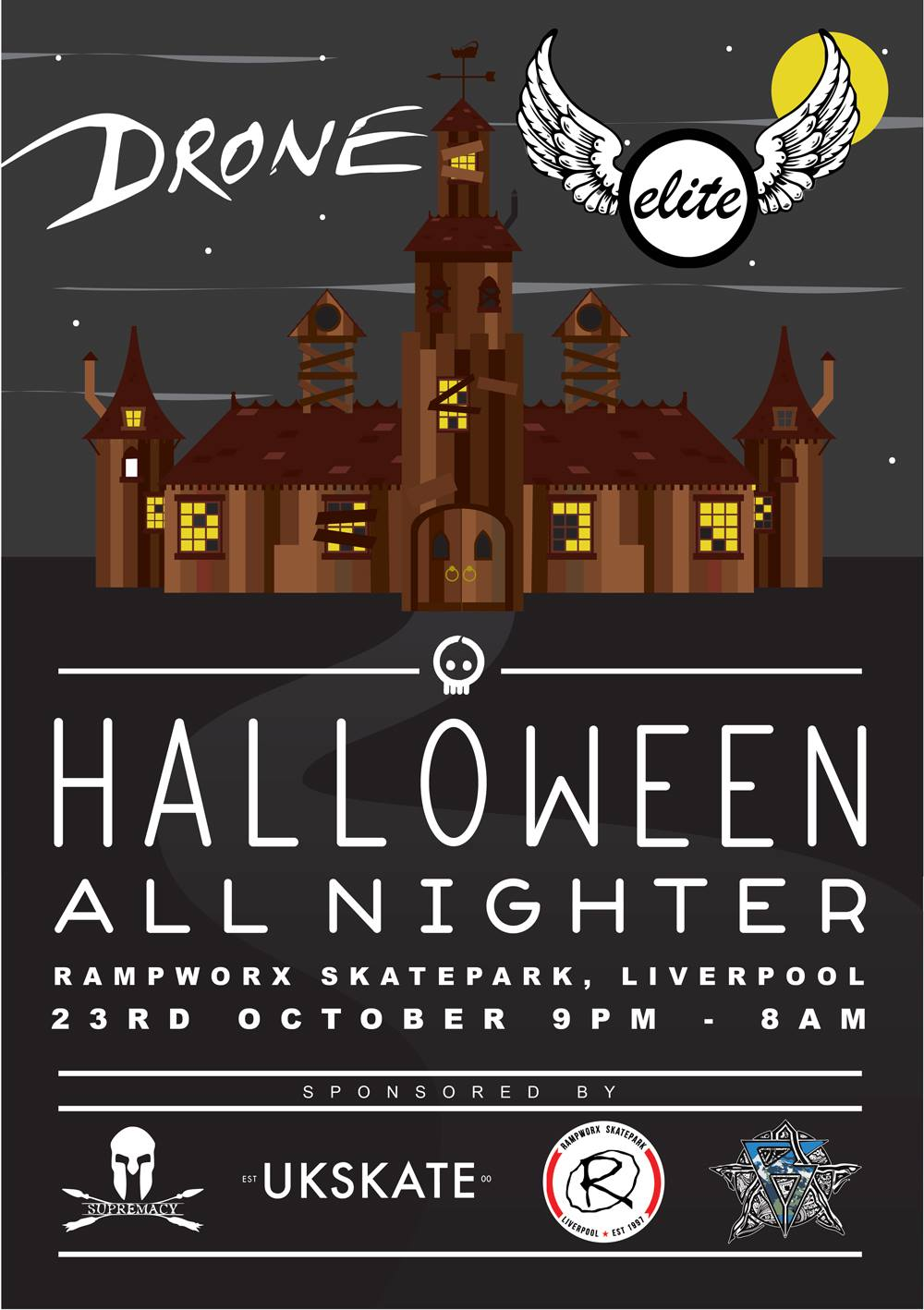 drone-scooters-elite-scooters-halloween-allnighter