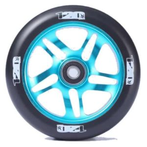 blunt scooter wheels 120mm teal