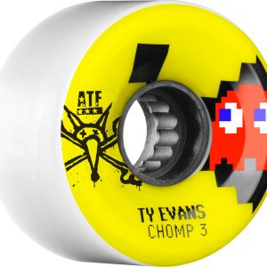 bone evans chomped skateboard atf III 80A wheels