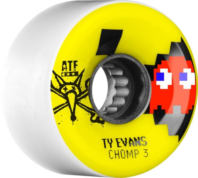 bone evans chomped skateboard atf III 80A wheels