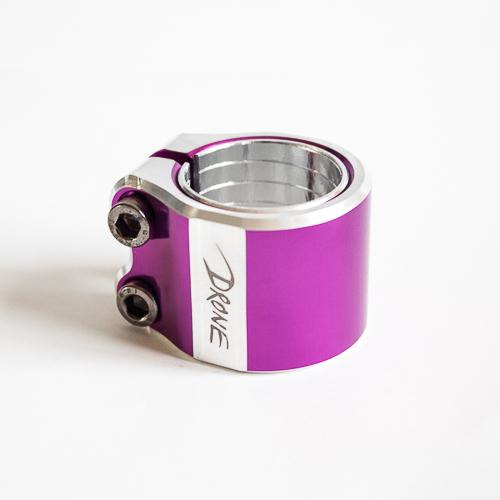Drone Contrast Double Clamp - Purple